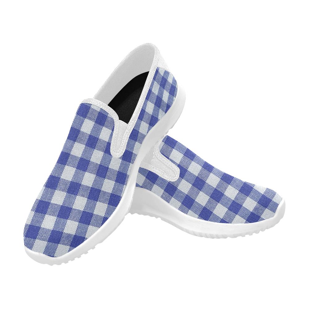 BLUEKARO 15 Orion Slip-on Women's Canvas Sneakers (Model 042)