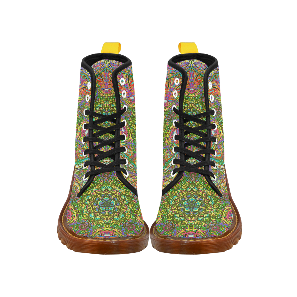 Thleudron Women's Mangshan Martin Boots For Women Model 1203H