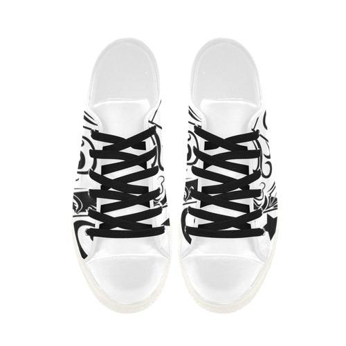 Zodiac - Gemini Aquila Microfiber Leather Women's Shoes (Model 028)
