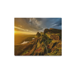 "Hills Of Scotland Canvas Print 20""x16"""