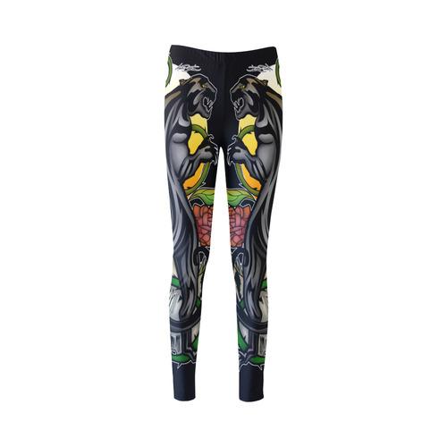 Panther Cassandra Women's Leggings (Model L01)