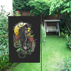 Panther Garden Flag 12''x18''(Without Flagpole)