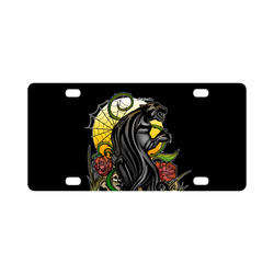Panther Classic License Plate