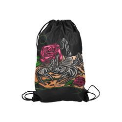 "Zodiac - Scorpio Small Drawstring Bag Model 1604 (Twin Sides) 11""(W) * 17.7""(H)"