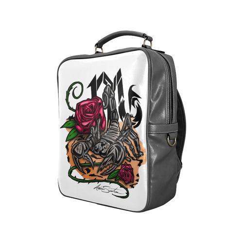 Zodiac - Scorpio Square Backpack (Model 1618)