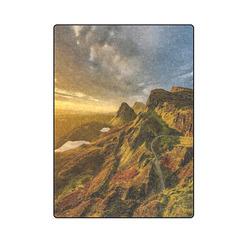 "Hills Of Scotland Blanket 58""x80"""