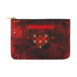 Beautiful heart Carry-All Pouch 12.5''x8.5''