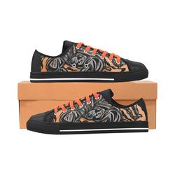 Zodiac - Scorpio Aquila Microfiber Leather Women's Shoes (Model 028)