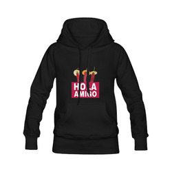 Hola Amigo Three Red Chili Peppers Friend Funny Men's Classic Hoodies (Model H10)