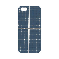 Solar Technology Power Panel Image Energy Cell Hard Case for iPhone SE
