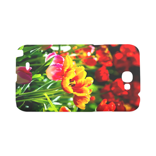 Tulip Flower Colorful Beautiful Spring Floral Hard Case for Samsung Galaxy Note 2