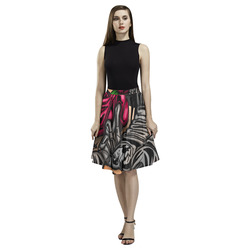 Zodiac - Scorpio Melete Pleated Midi Skirt (Model D15)
