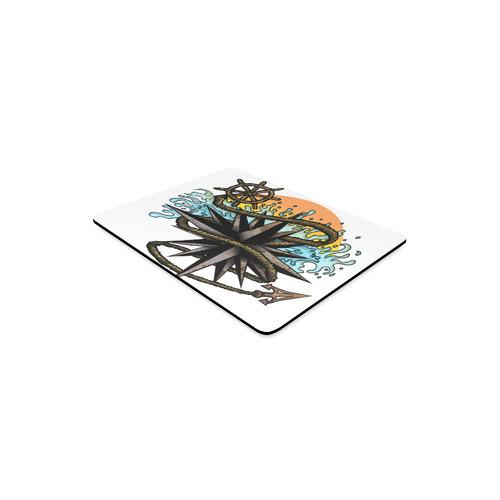 Nautical Splash Rectangle Mousepad