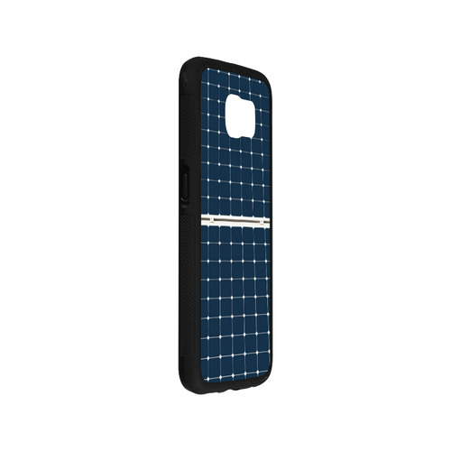 Solar Technology Power Panel Image Sun Energy Rubber Case for Samsung Galaxy S6