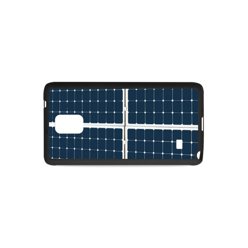 Solar Technology Power Panel Image Sun Energy Rubber Case for Samsung Galaxy Note 4