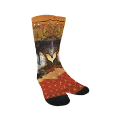 Steampunk, awesome steampunk horse Trouser Socks