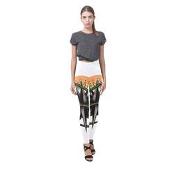 Nautical Splash Cassandra Women's Leggings (Model L01)