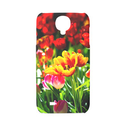 Tulip Flower Colorful Beautiful Spring Floral Hard Case for Samsung Galaxy S4
