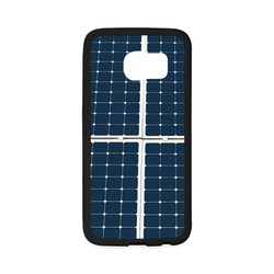 Solar Technology Power Panel Image Sun Energy Rubber Case for Samsung Galaxy S6 Edge