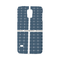 Solar Technology Power Panel Image Sun Energy Hard Case for Samsung Galaxy S5