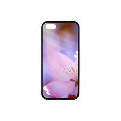 Sakura Cherry Blossom Spring Heaven Light Pink Rubber Case for iPhone 5/5s