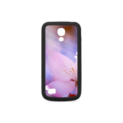 Sakura Cherry Blossom Spring Heaven Light Pink Rubber Case for Samsung Galaxy S4 mini