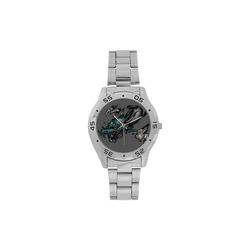 Dragon Soar Men's Stainless Steel Analog Watch(Model 108)