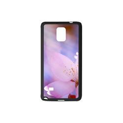 Sakura Cherry Blossom Spring Heaven Light Pink Rubber Case for Samsung Galaxy Note 4