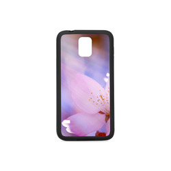 Sakura Cherry Blossom Spring Heaven Light Pink Rubber Case for Samsung Galaxy S5