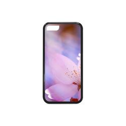 Sakura Cherry Blossom Spring Heaven Light Pink Rubber Case for iPhone 5c