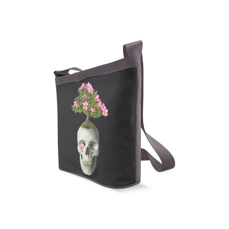 Bonsai Skull Crossbody Bags (Model 1613)