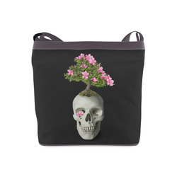 Bonsai Skull Crossbody Bags (Model 1613)