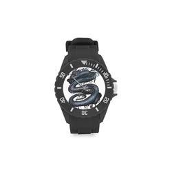 Dragon Swirl Sport Rubber Strap Watch(Model 301)