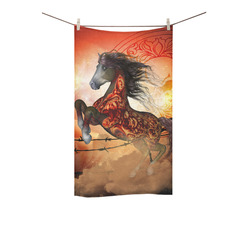 "Awesome creepy horse with skulls Custom Towel 16""x28"""