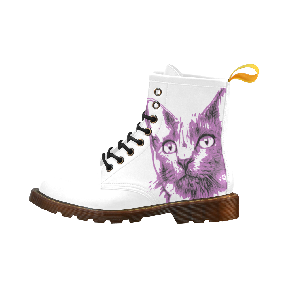 CATS KITTEN II High Grade PU Leather Martin Boots For Women Model 402H
