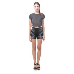 Dragon Swirl Briseis Skinny Shorts (Model L04)