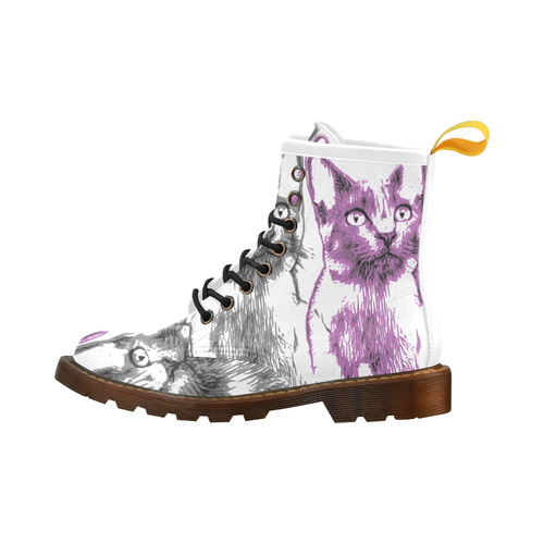 CATS KITTEN High Grade PU Leather Martin Boots For Women Model 402H