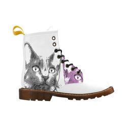 CATS KITTEN II High Grade PU Leather Martin Boots For Women Model 402H