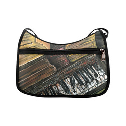 Broken Piano Crossbody Bags (Model 1616)