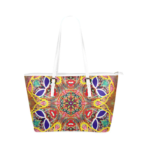 Thleudron Cayman Leather Tote Bag/Large (Model 1651)