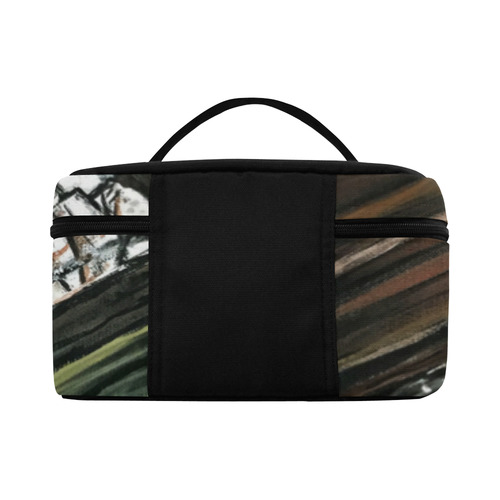 Broken Piano Cosmetic Bag/Large (Model 1658)