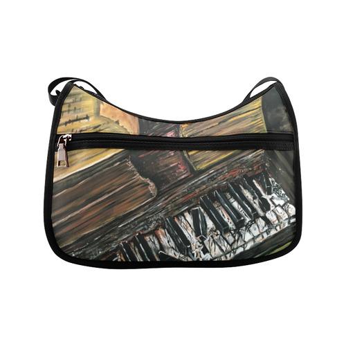 Broken Piano Crossbody Bags (Model 1616)