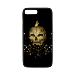 "The golden skull Rubber Case for iPhone 7 plus (5.5"")"