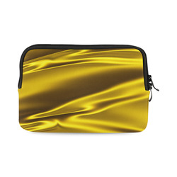 Vivid gold satin 3D texture iPad mini
