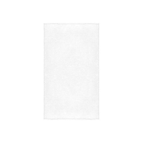 """Metallic grey satin 3D texture Custom Towel 16""""x28"""""""