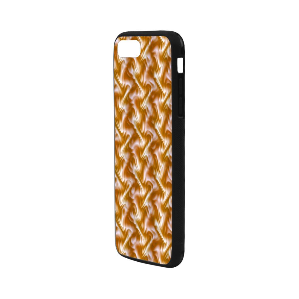 "Chocolate Silk Rumple - Jera Nour Rubber Case for iPhone 7 plus (5.5"")"