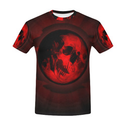 Death Moon All Over Print T-Shirt for Men (USA Size) (Model T40)