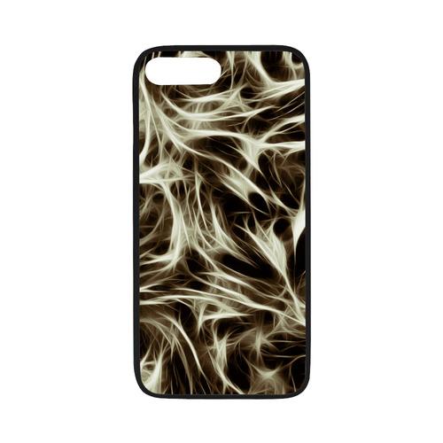 "Misty Moods Black & White - Jera Nour Rubber Case for iPhone 7 plus (5.5"")"