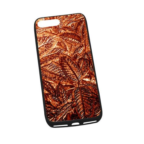 "Copper Foliage - Jera Nour Rubber Case for iPhone 7 plus (5.5"")"