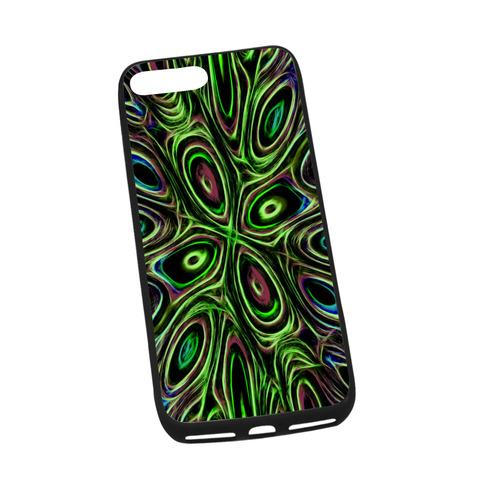 "Peacock Strut III - Jera Nour Rubber Case for iPhone 7 plus (5.5"")"